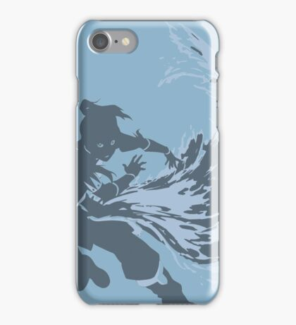Minimalist Korra from Legend of Korra iPhone Case/Skin
