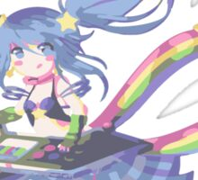 Arcade Sona League of Legends Sticker