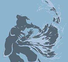 Minimalist Korra from Legend of Korra by Himehimine