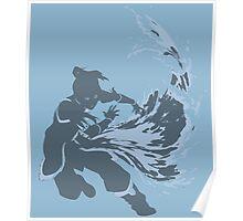 Minimalist Korra from Legend of Korra Poster