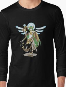 Minimalist Palutena from Super Smash Bros. 4 Long Sleeve T-Shirt