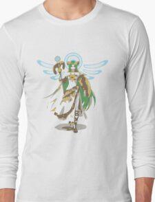 Minimalist Palutena from Super Smash Bros. 4 Long Sleeve T-Shirt