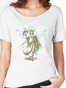 Minimalist Palutena from Super Smash Bros. 4 Women's Relaxed Fit T-Shirt