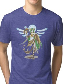Minimalist Palutena from Super Smash Bros. 4 Tri-blend T-Shirt