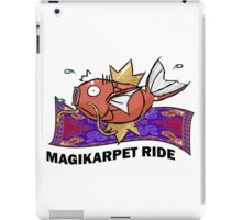 Magikarpet Ride iPad Case/Skin