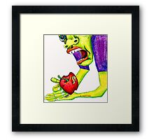 Adams Apple Framed Print