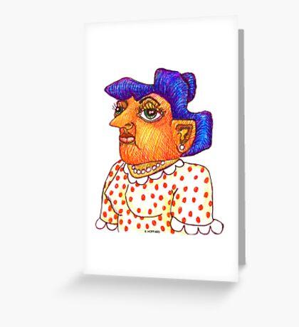 Mom - Betty Greeting Card