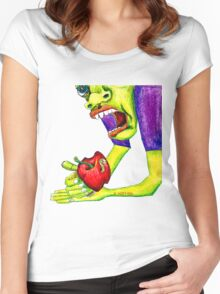 Adams Apple Women's Fitted Scoop T-Shirt
