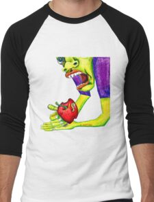 Adams Apple Men's Baseball ¾ T-Shirt
