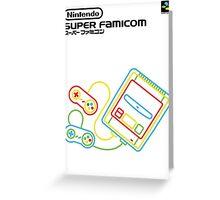 Super Famicom Greeting Card