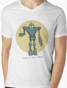 Humble Creative Machine Mens V-Neck T-Shirt