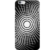 Inverted White to Black iPhone Case/Skin