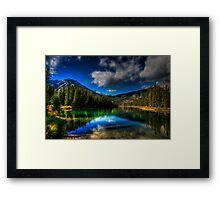 Alpine Oasis Framed Print