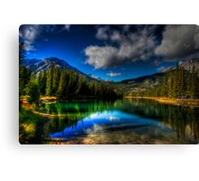Alpine Oasis Canvas Print
