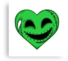 Oogie Heart Canvas Print