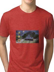 Temple Of Wisdom Tri-blend T-Shirt