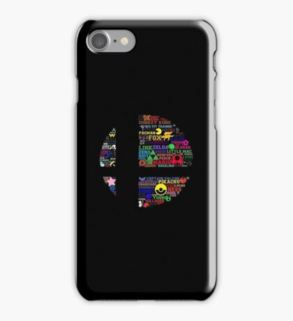 Smash Roster iPhone Case/Skin