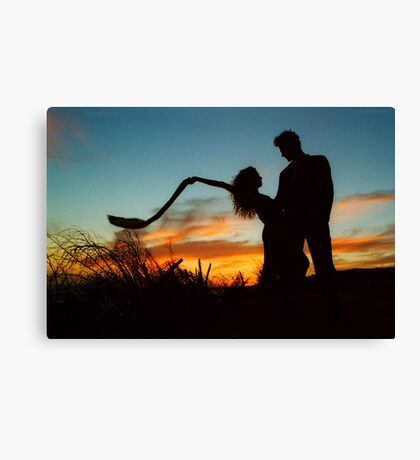 IF LOVE WAS JUST A MOMENT Canvas Print