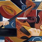 Abstract Violin by Trisha Lamoreaux