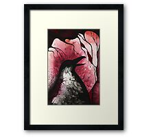 Rogue Crow Framed Print