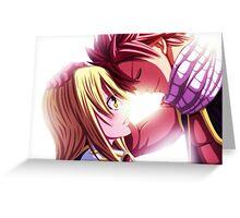 Natsu & Lucy Greeting Card
