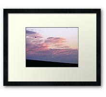 Folding Cloud Framed Print
