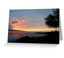 Makena Beach Maui Greeting Card