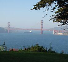 SAN FRANCISCO BRIDGE SITE by USSSWIFE