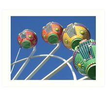 Ferris Wheel in the Sky Art Print