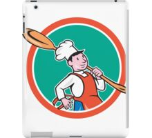 Chef Cook Marching Spoon Circle Cartoon iPad Case/Skin