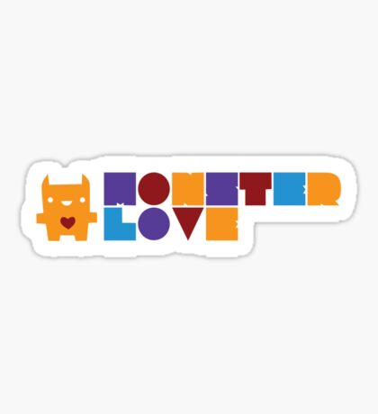 Monster Love: The Text Version Sticker
