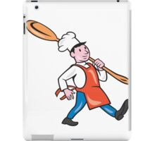 Chef Cook Marching Spoon Cartoon iPad Case/Skin