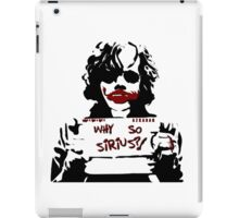 Why so Sirius? iPad Case/Skin