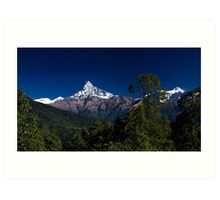 Fishtail in the Foothills Art Print