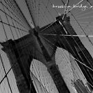 Brooklyn Bridge NYC 2004 by Paul Foley