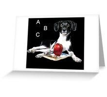Teachers Pet Greeting Card