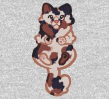 Clinging Calico Cat Kids Clothes