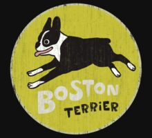Vintage Style Boston Terrier Kids Clothes