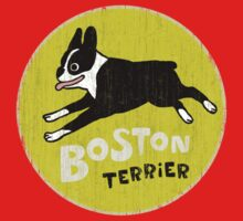 Vintage Style Boston Terrier One Piece - Short Sleeve