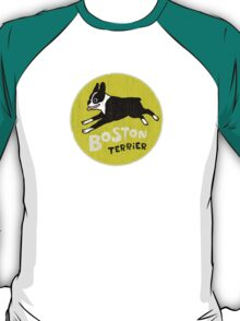 Vintage Style Boston Terrier T-Shirt