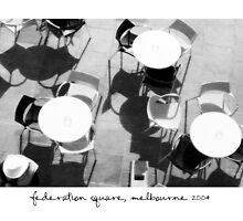 Federation Square, Melbourne by Paul Foley