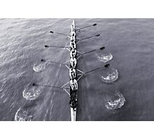 Rowing Photographic Print