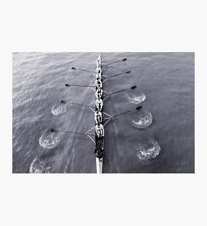 Rowing Photographic Print