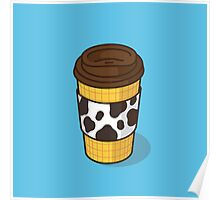 Sheriff Woody's Coffee-to-GO! Poster