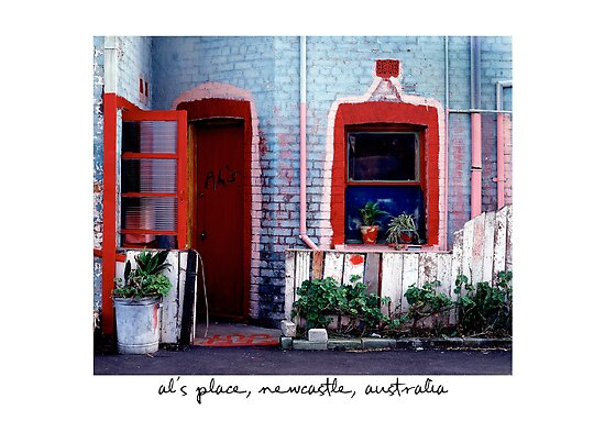 Al's Place, Newcastle, Australia by Paul Foley