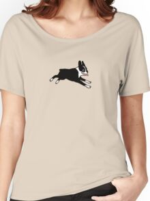 Jumping Boston Women's Relaxed Fit T-Shirt