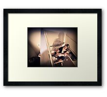 decency Framed Print