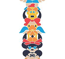 Disney Totem by Molly Williams
