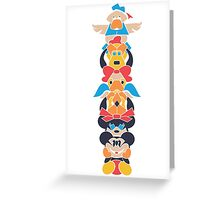 Disney Totem Greeting Card