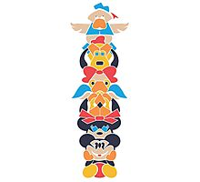 Disney Totem Photographic Print